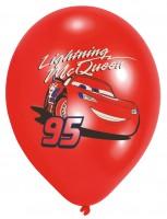 6 Cars Flotter Flitzer Lightning McQueen Ballons