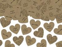 Liebeserklärung Herz Konfetti 3g