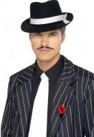 20er Jahre Gangster Krawatte weiß
