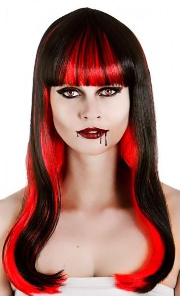 Blutige Alicia Halloween Perücke