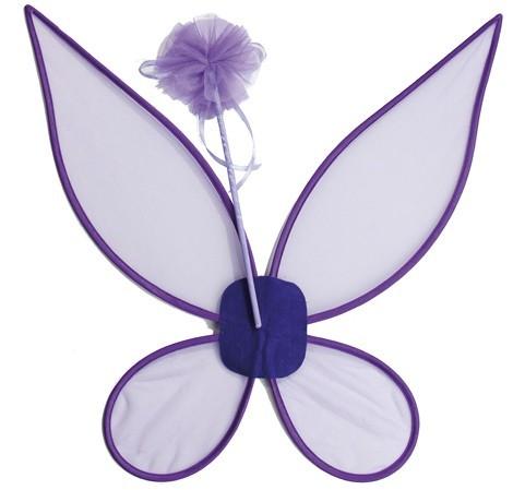 Purple fairies children set 2 pieces