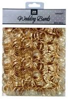 Tischdekoration Ehering Gold Just Married 288 Stück
