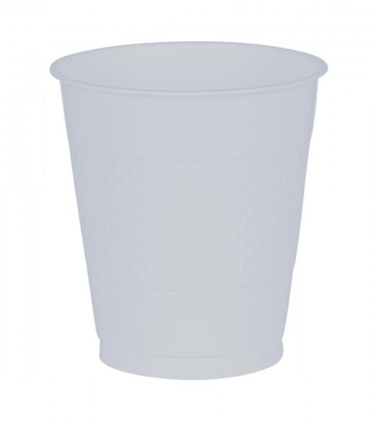 50 gobelets en plastique transparent 473 ml