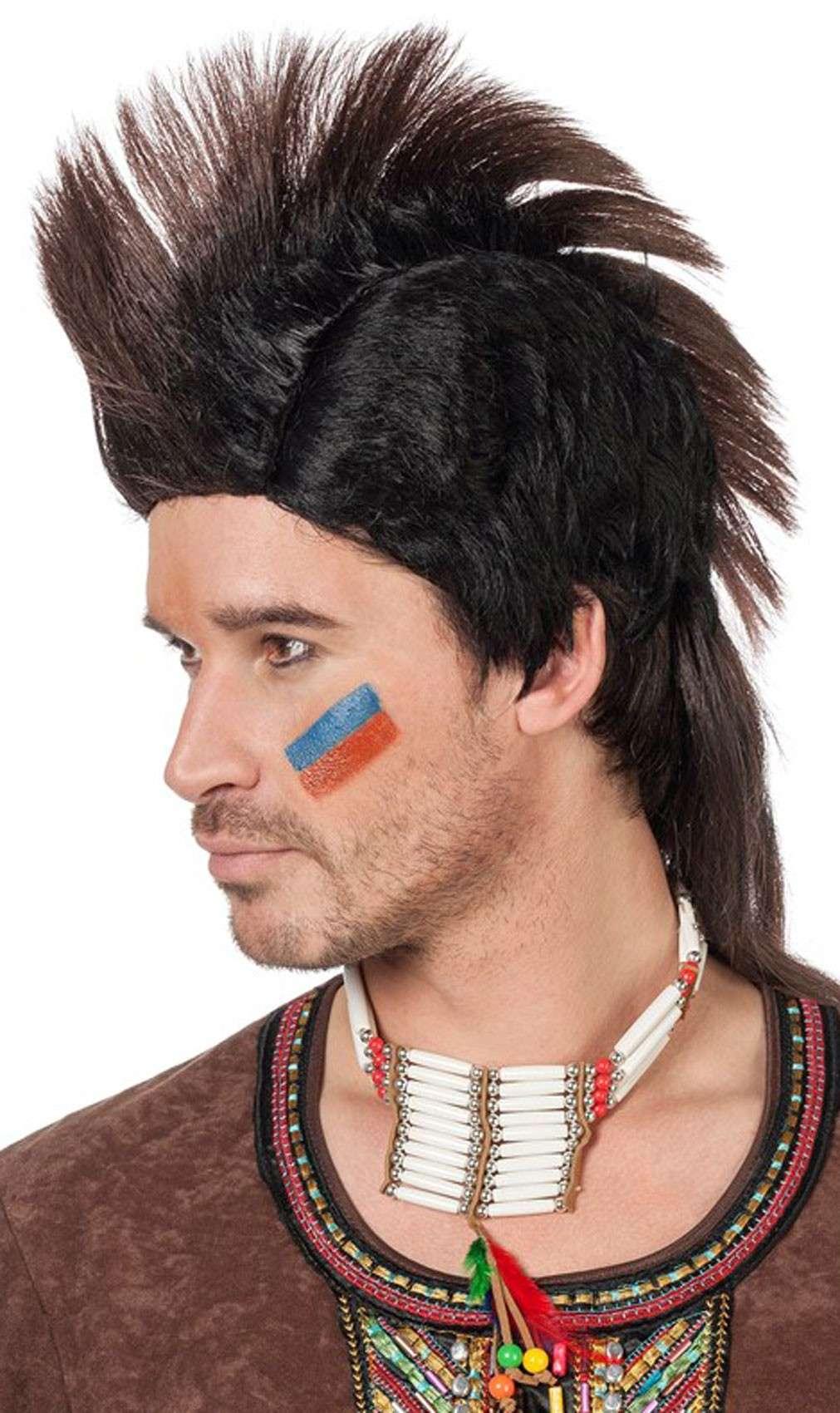 Herren irokesenschnitt Kurze Haare