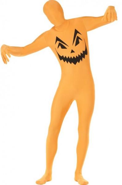 Ganzkörper Kürbis Anzug Für Erwachsene Orange