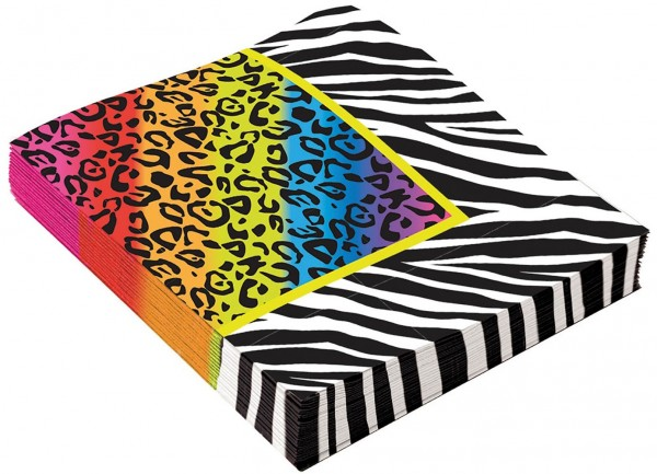 16 Back to the 80s napkins