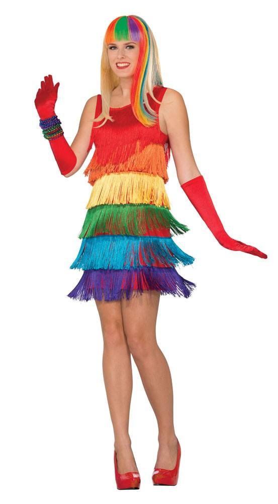 Regenbogen Flapper Kleid Für Damen | Party.de