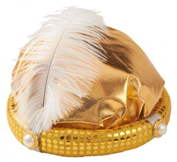Orient Sultan Mütze Mit Perlen