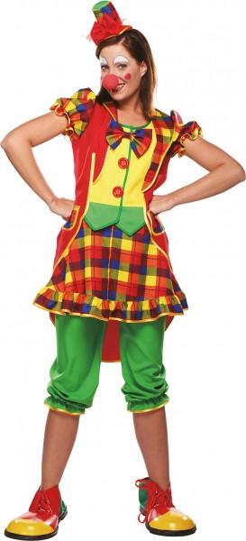 Buntes Clown Unisex Kostüm