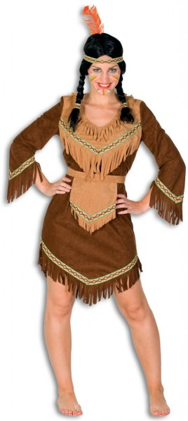 Indianerin Talula Damenkostüm