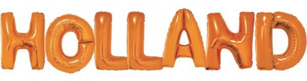 Holland Folienballon Schriftzug