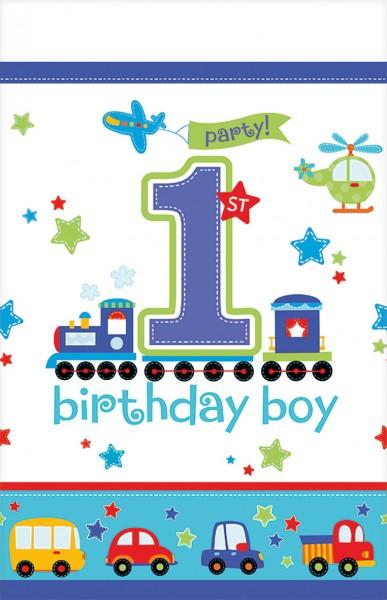 Kindergeburtstag First Birthday Boy Tischdecke 137x259cm