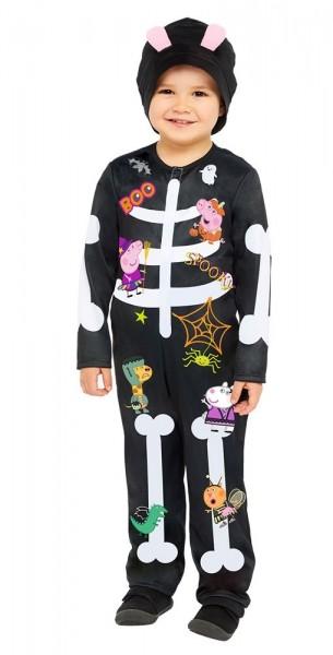 Peppa Pig Kinder Kostüm nachtleuchtend