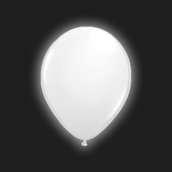 5 ballons LED au clair de lune