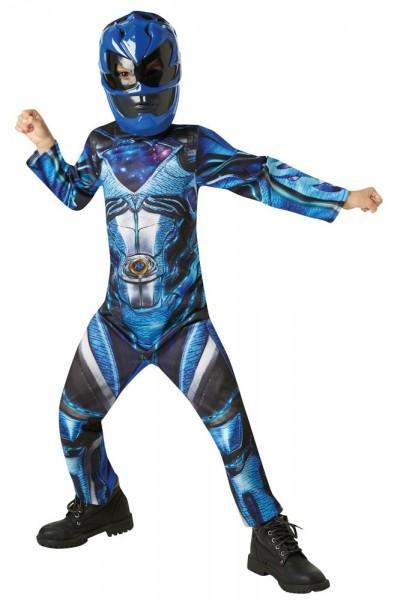 Blue Power Ranger Kostüm Für Kinder