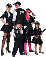 FBI Junior Agentin Kinderkostüm