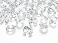 10 Streudeko Diamanten transparent 2cm