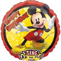 Ballon à musique Mickey Mouse chantant 71cm