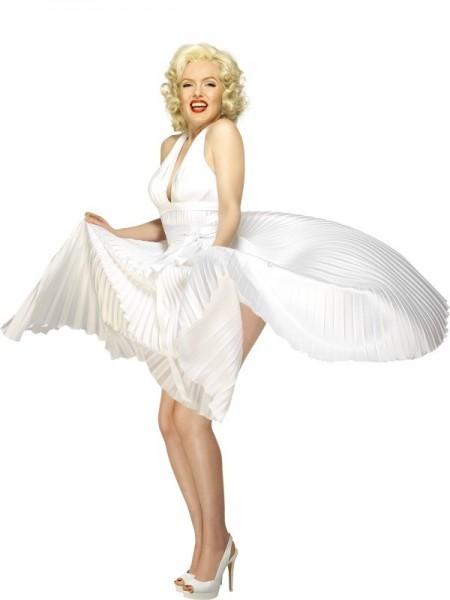 Weißes Marilyn Monroe Kleid