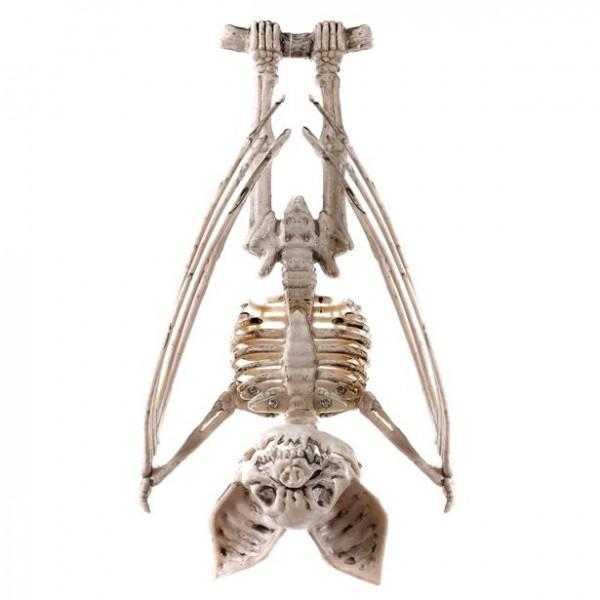 Hängendes Fledermaus Skelett 29cm