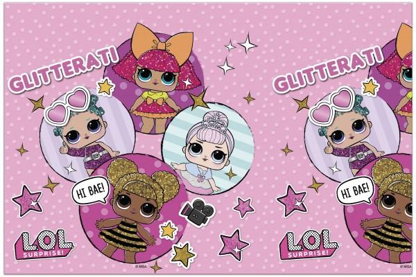 LOL Glam Girls Tischdecke 1,8 x 1,2m
