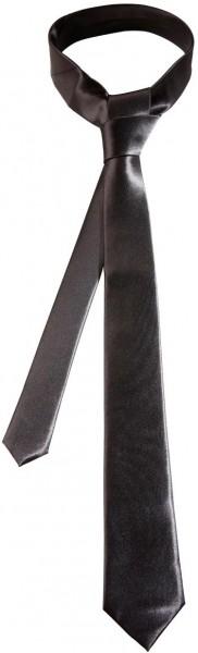 Schwarze Satin Krawatte