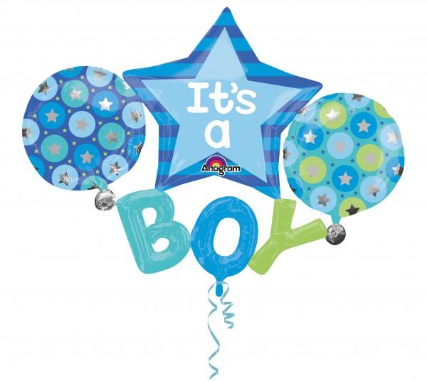 Ballon Foil Baby Shower Le Petit Prince