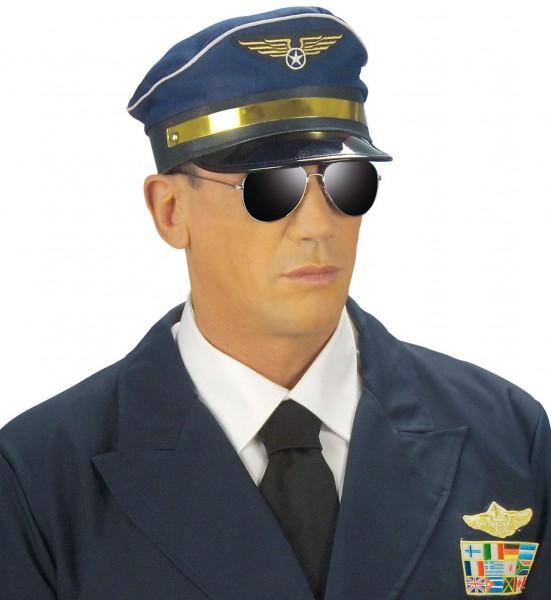Kapitän Jeffrey Pilotenmütze
