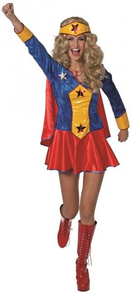 Superheldin Sandy Star Damenkostüm