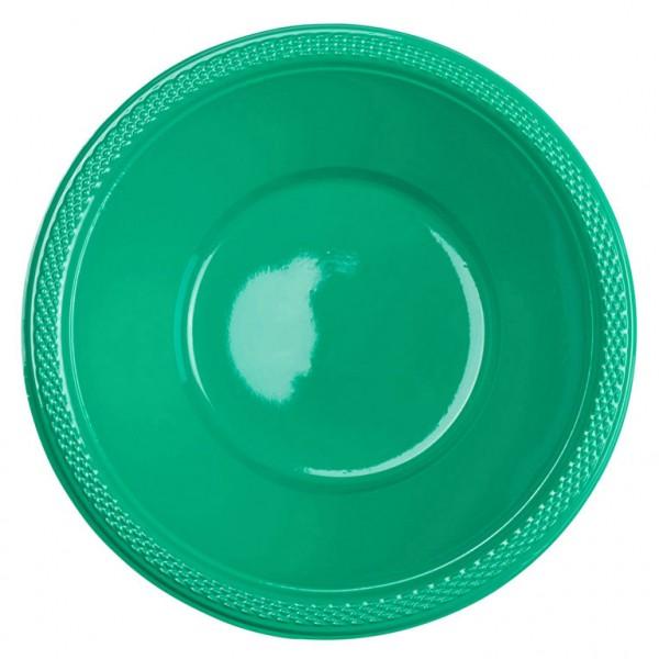 10 Party Buffet Schüsseln Opalgrün 355ml