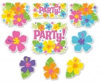 12 Luau Party Wandbilder