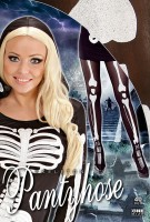 Strumpfhose Skelett Knochen