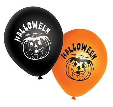 20 Halloween Pumpkin Luftballons