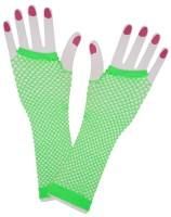 Neon Netzhandschuhe Grün