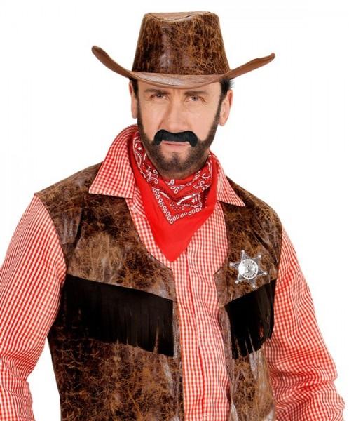Cowboy beards black
