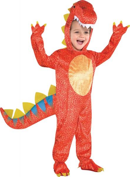 Disfraz infantil de dragón de fuego