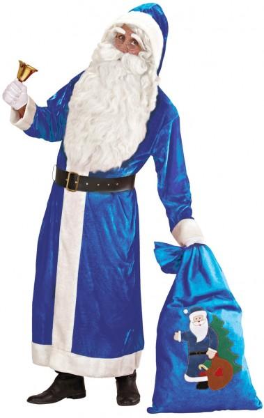 Samtiges Weihnachtsmannkostüm XL Santa