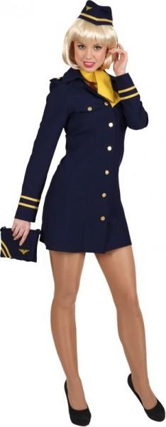 Sexy Stewardess Susi Kostüm Für Damen