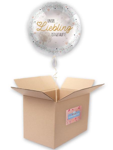 Taufe Liebling Folienballon 43cm