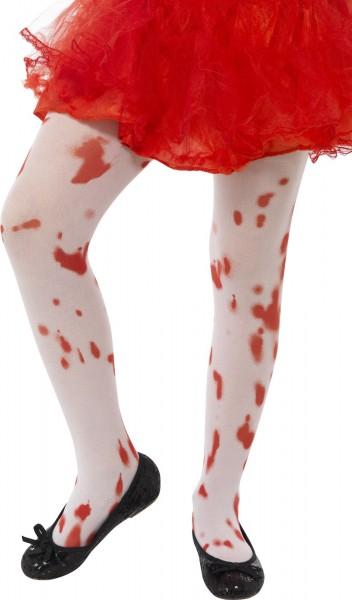 Blutige Mini Zombie Strumphose