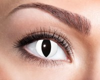 Weiße Oval Jahres Kontaktlinse