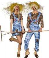 Crazy Vogelscheuche Kostüm für Herren