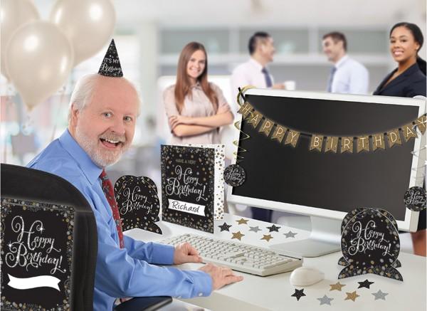 Golden Age Birthday Bürodeko-Set