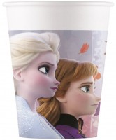 8 Frozen 2 Pappbecher 200ml