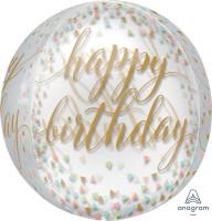 Orbz Ballon Birthday Parade 40cm