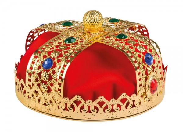 Edle Königs Herrscher Krone