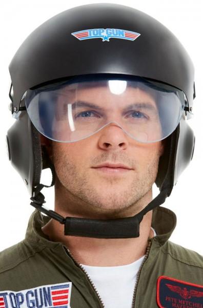Top Gun Kampfjet Piloten Helm Deluxe