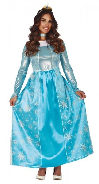 Prinzessin des Eis Kostüm für Damen