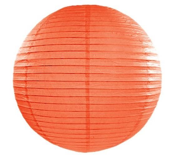 Lampion Lilly orange 45 cm