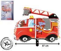 XL Folienballon Feuerwehrauto 80 x 87cm
